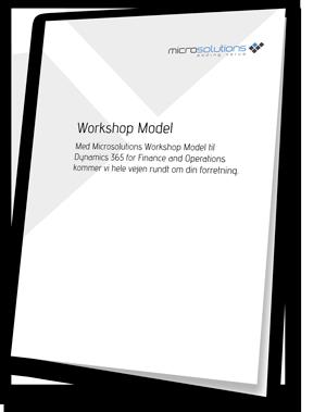 Implementeringsmodel til Dynamics 365 for Finance and Operations